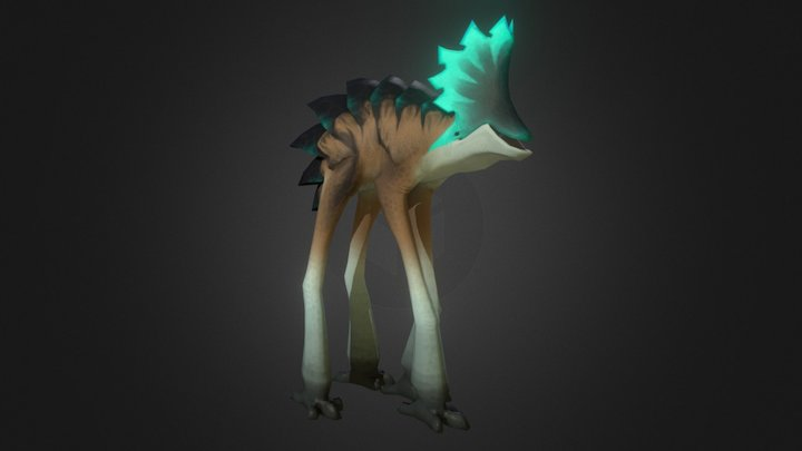 Stiltwalker 3D Model