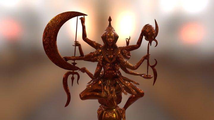 La-dite hache Kali 3D Model