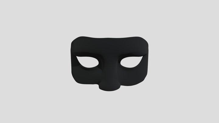 Identity Mask 3D Model