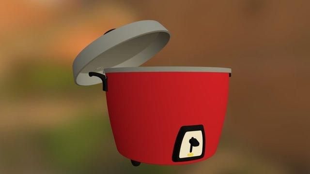 RICECOOKER 3D Model