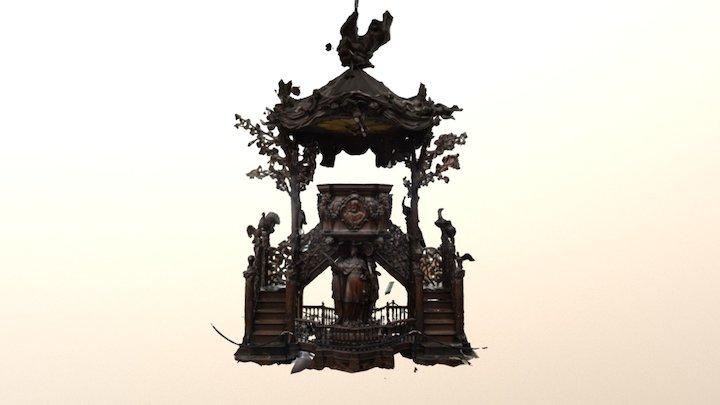 OLV Kathedraal - Preekstoel 3D Model