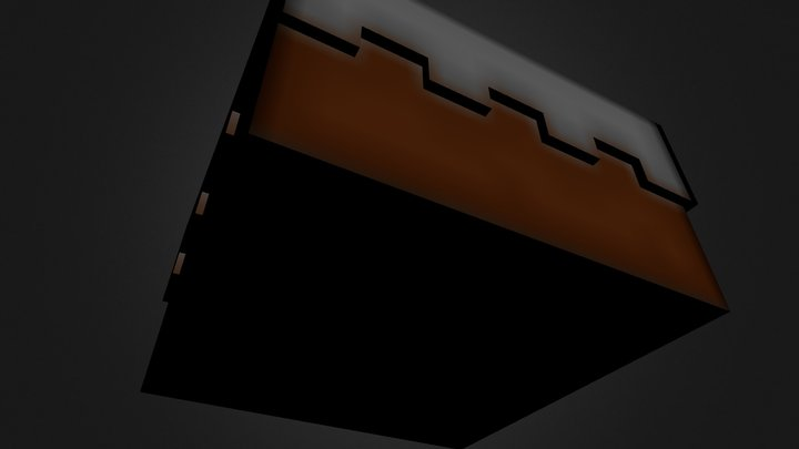 Minecraft Cake3 3D Model