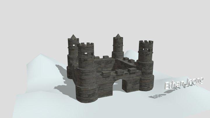 Wk6a Castle (2) 3D Model