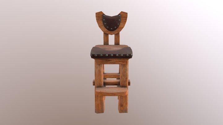 barchair 3D Model