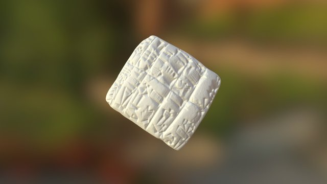 Cuneiform: Flour (37) 3D Model