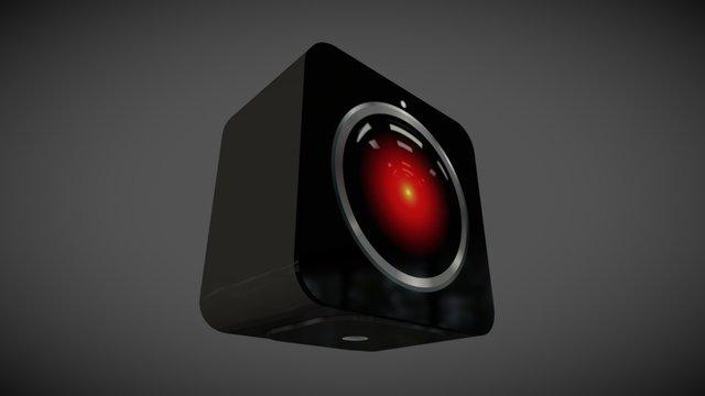 HAL 9000 for Vive Base Station 3D Model