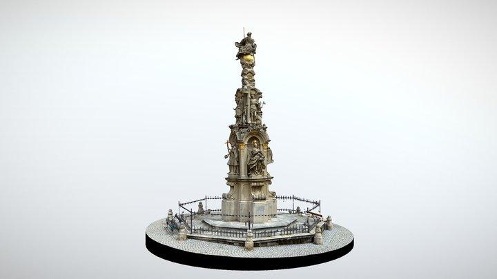 RETZ - Holy Trinity Column 3D Model