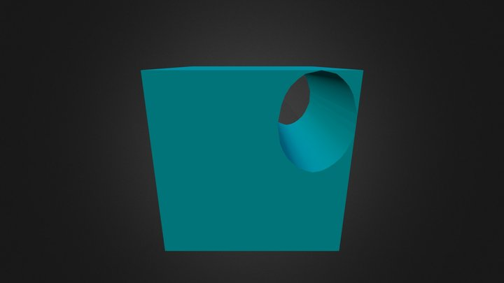 Túnel Cilndrico 3D Model