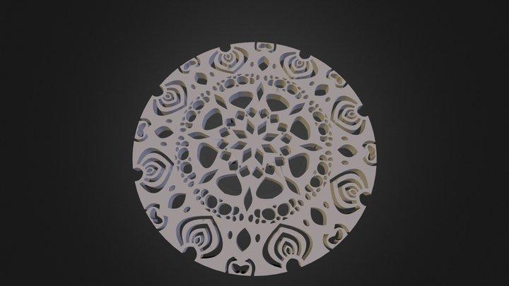מנדלה-עיצוב אישי 3D Model