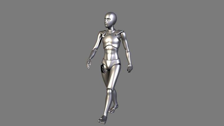 Generic Walking 3D Model