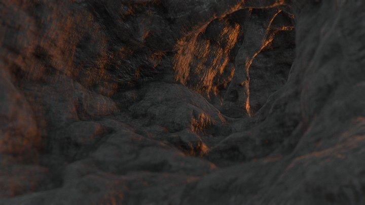 Cave LP (9k) FREE DOWNLOAD 3D Model