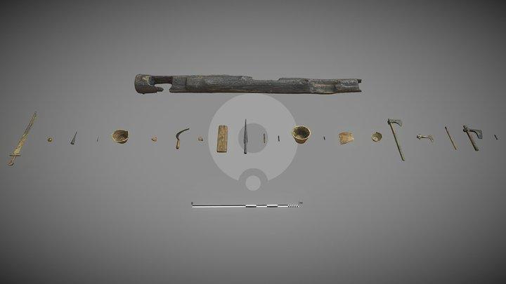 Lednica Lake 2020 Artefacts 3D Model