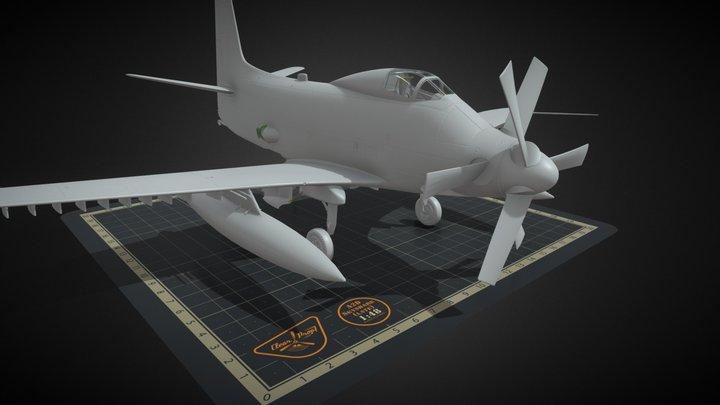 A2D Skyshark (late) 3D Model