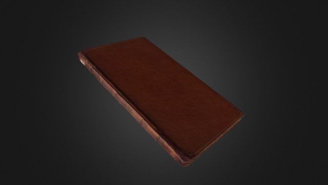 Book of Esther, Or 1087 3D Model