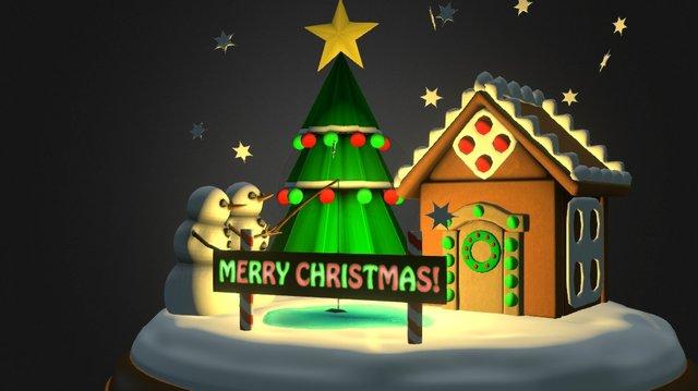 Merry Christmas! 3D Model
