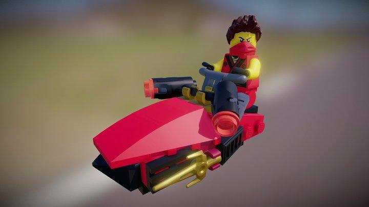 LEGO Ninjago - Kai Drifter 3D Model
