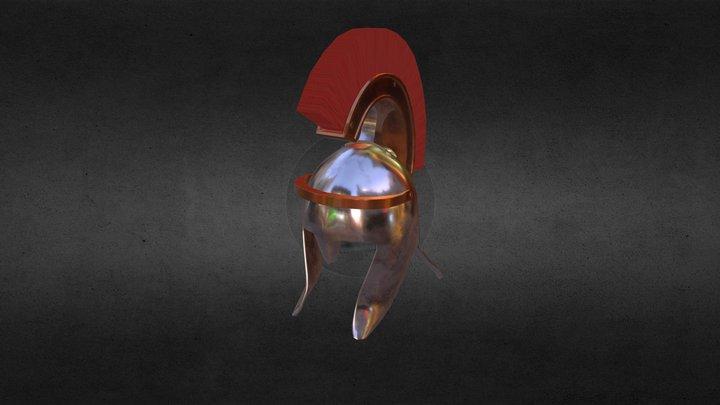 Helmet centurion PBR 3D Model