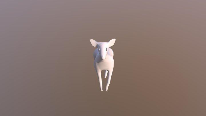 Deer Walk 3D Model