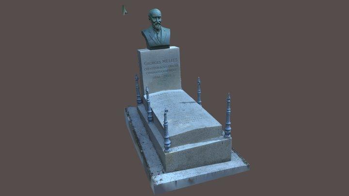 Tombe Georges Méliès - 11 Juin 2021 3D Model