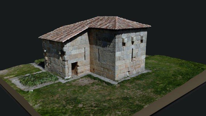 Ermita de Santa María. Quintanilla de las Viñas 3D Model