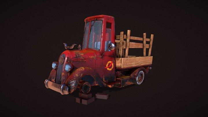 Texture_truck 3D Model