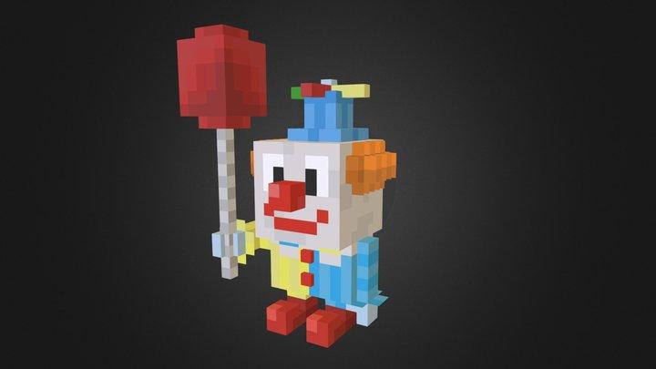Halloween Clown 3D Model