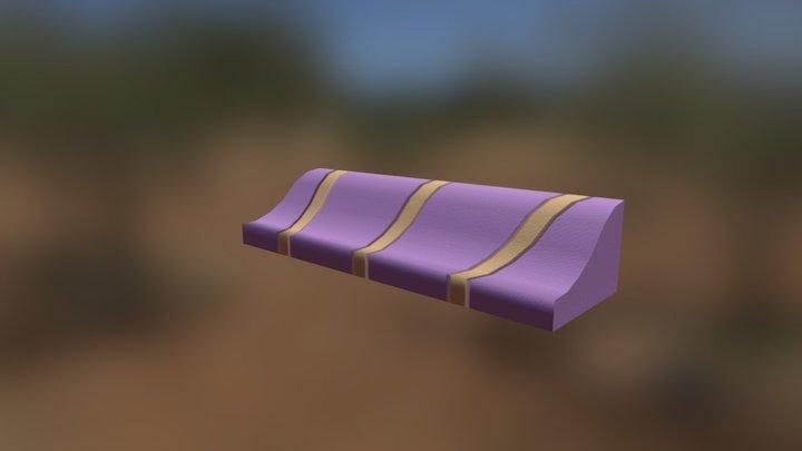 Pastry Panzer Panic! - Awning 3 3D Model