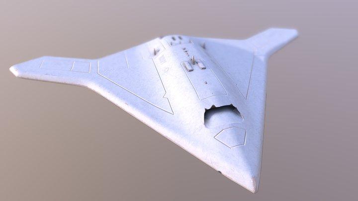 X-47B 3D Model