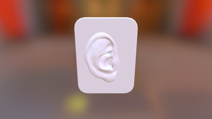 Silicone Ear Pad 3D Model