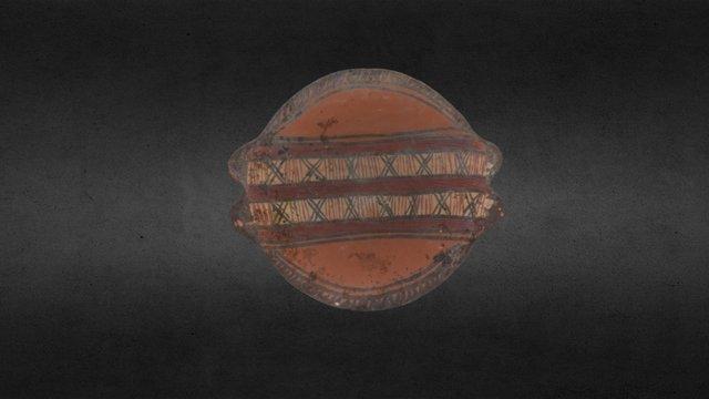 Plato Inca en 3D 3D Model