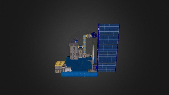 Platform Space Engineers 3D Model