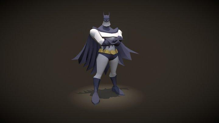 Batsy A Pose A 3D Model
