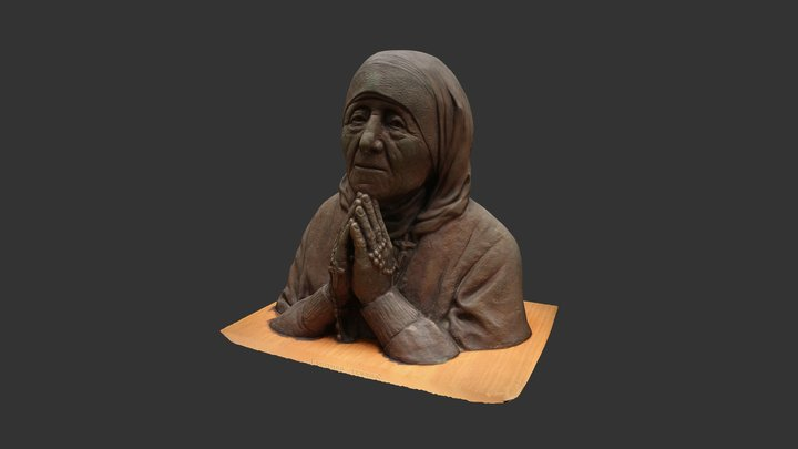 Mother Teresa 3D Model