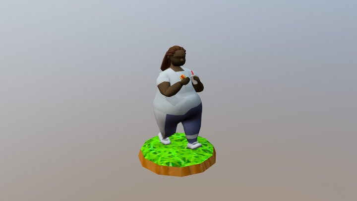 Chad 3D Model