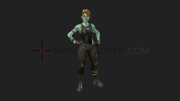 Fortnite - Ghoul Trooper 3D Model