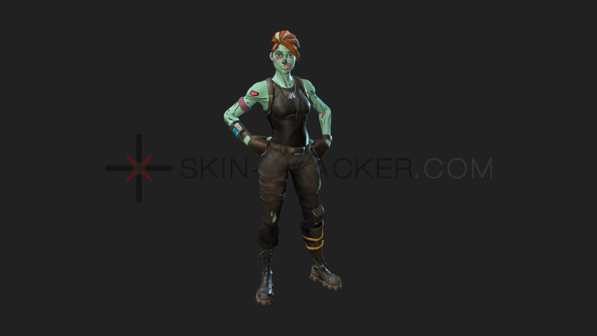 Fortnite Ghoul Trooper 3d Model By Skin Tracker
