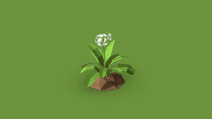 Qurantink Challenge - Day 17 - Flower 3D Model
