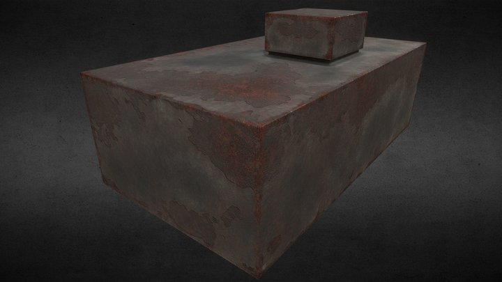 Rusty box 3D Model