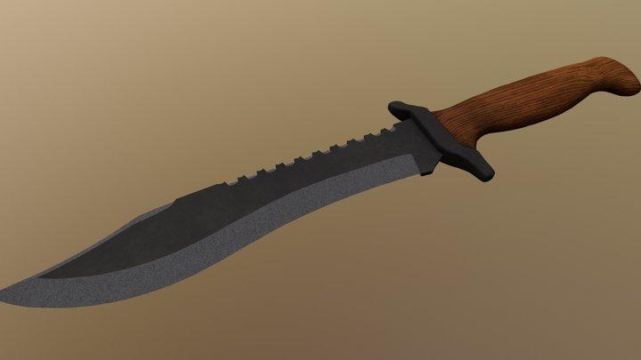 BDS´s Black Bear Knife 3D Model