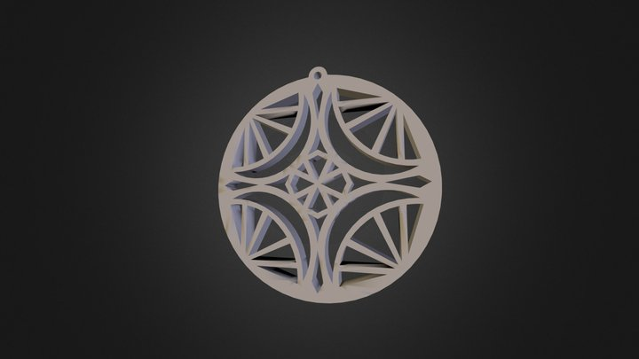 Little Mandala-  Avigail Turner 3D Model
