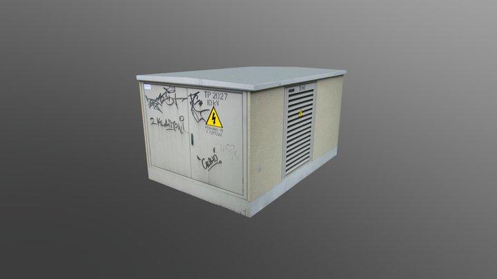 Transformer Box 3D Model