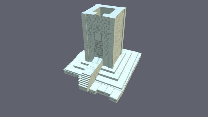 Reconstructed Tower at Naqsh-i Rustam (Iran) 3D Model