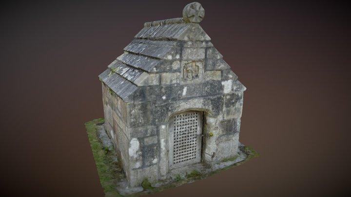 St. Guron`s Well House 3D Model