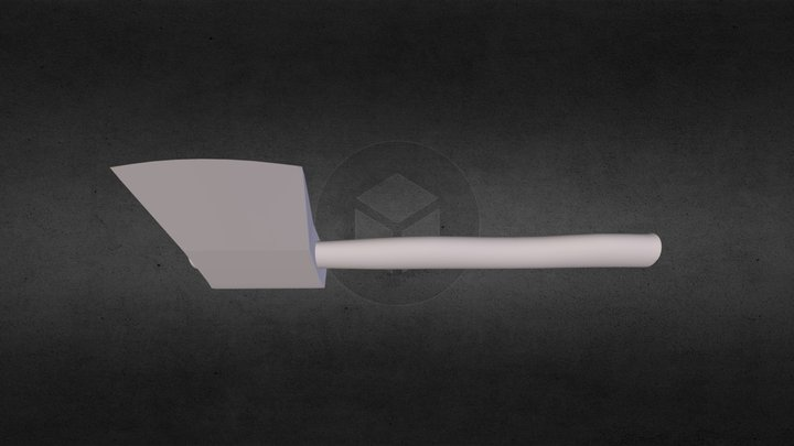 One Handed Axe 3D Model