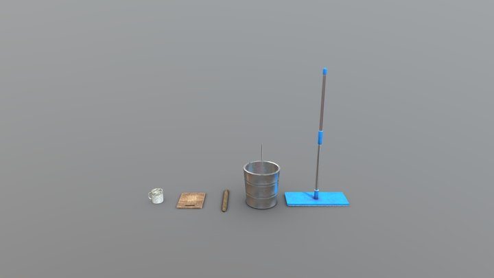 The Hotel - Kitchen Props 3D Model