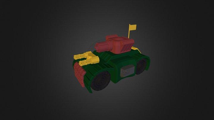 3DRacers - Tank 3D Model
