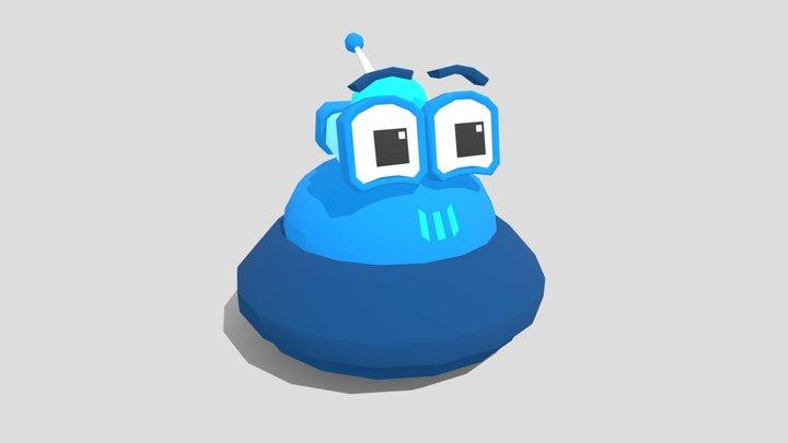 Player Bot A - GGJ 3D Model
