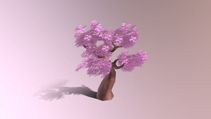 Organics: Small Tree 3D Model
