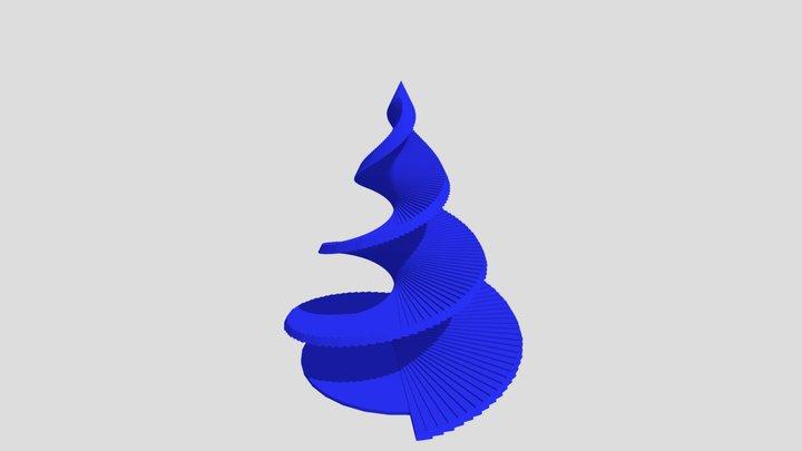 Arbol-espiral 3D Model