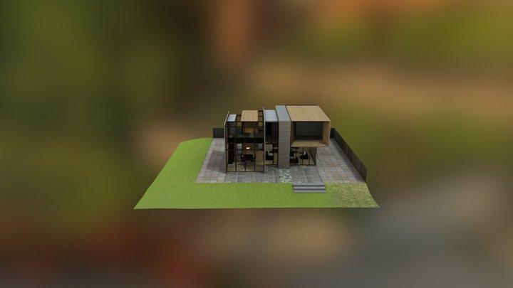 house no 9 3D Model